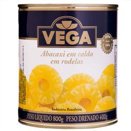 Abacaxi Calda Rodelas Vega 400 g