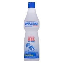 Álcool Gel Bactérias 70g Coperalcool 500 mL