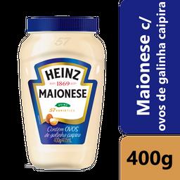 Maionese Heinz c/ Ovos de Galinha Caipira 400g