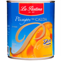 Pêssego Arg.Diet La Pastina 470 g