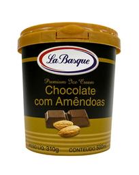 Sorvete La Basque Chocolate Com Amêndoa 310 g