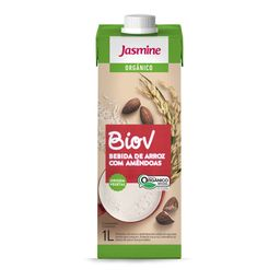 Bebida Arroz Orgânica Jasmine Amêndoa 1 L