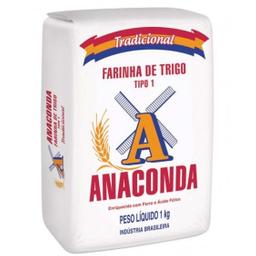 Farinha Trigo Anaconda Tipo 1 1 Kg
