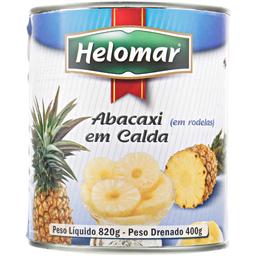 Abacaxi Calda Helomar Rodela 820 g