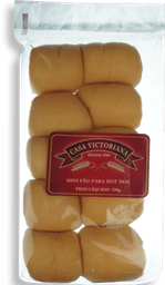 Pão Hot Dog Casa Victoriana Mini 250 g