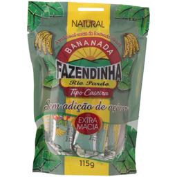 Bananada Fazendinha Sem Açúcar 115 g