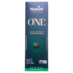 Café Orgânico Native Cápssulas Original 10 Und