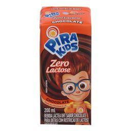 Bebida Láctea Chocolate Zero Piracanjuba 200 mL