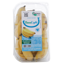Banana Light Orgânica Maciel 600 g