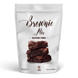 Mistura Brownie Zaya Sem Glúten 590 g
