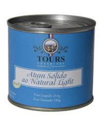 Atum Solido Tours Light Natural 180 g