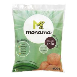 Pão De Chia Monama 400 g
