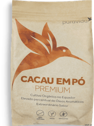 Cacau Pó Puravida Premium 250 g