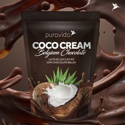 Leite Coco Pó Puravida Chocolate Sem Glúten 250 g
