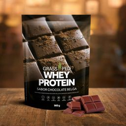 Proteína Concentrada Whey Protein Chocolate Belga 900 g