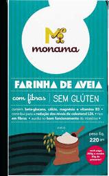 Farinha Aveia Monama Sem Glúten 220 g