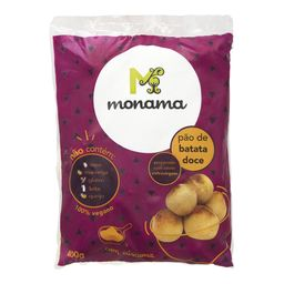 Pão Monama Batata Doce Sem Glúten 400 g