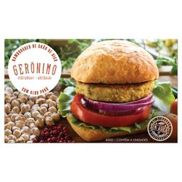 Hambúrguer Vegetariano Foods Grão De Bico Com Alho Poró 400 g