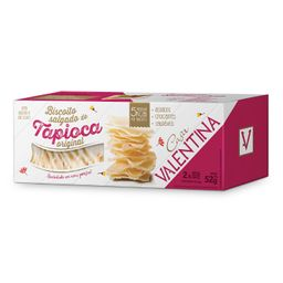 Biscoito Tapioca Casa Valentina Sem Glúten 52 g