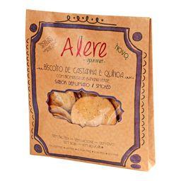 Biscoito Alere Castanha / Quinoa Defummada Sem Glúten 70 g