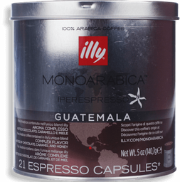 Café Illy 21 Cápsulas uatemala 140.7 g