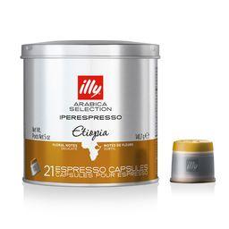 Café Illy 21 Cápsulas Etiopia 140.7 g