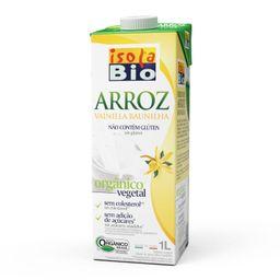 Bebida Arroz / Baunilha Isola Bio Orgânica 1 L