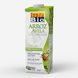 Bebida Arroz / Avelã Isola Bio Orgânica 1 L