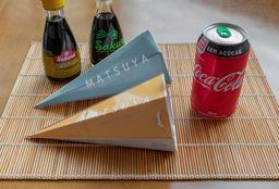 Combo Love Temaki + Coca-cola ❤