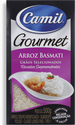 Arroz Gourmet Basmati Camil 500 g