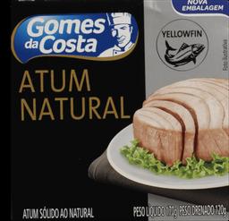 Atum Sólido ao Natural Light Gomes da Costa Premium 170 g