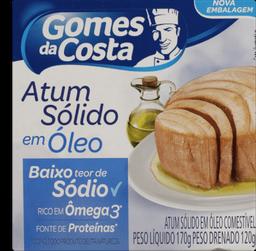 Atum Sólido Óleo Baixo Sódio Gomes Costa 170 g