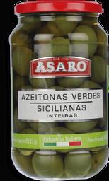 Azeitona Verde Inteira Asaro 340 g