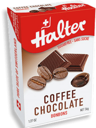 Bala Halter Sem Açúcar Café com Chocolate 36 g