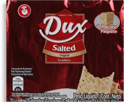 Biscoito Dux Cream Crackers Sal 100 g