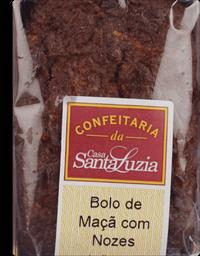 Bolo Santa Luzia Maçã e Nozes Indivividual 110 g