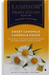 Chá Camomila Sweet London 20 Saquinhos