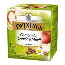 Chá Camomila/Canela/Maca Twinings 10 Saquinhos