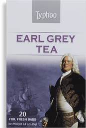 Chá Earl Grey Typhoo 20 Saquinhos