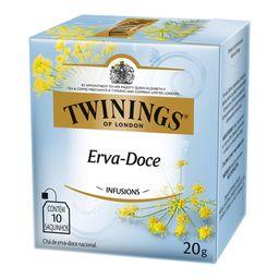 Chá Erva Doce Natural Twinings 10 Saquinhos