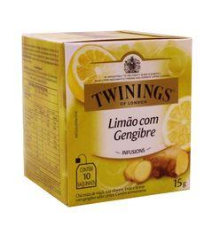 Chá Limão Com Gengibre Twinings 10 Saquinhos