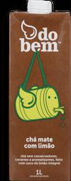 Chá Mate Com Suco De Limão Integral Do Bem 1 L