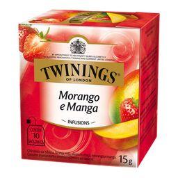 Chá Morango/Manga Twinings 10 Saquinhos