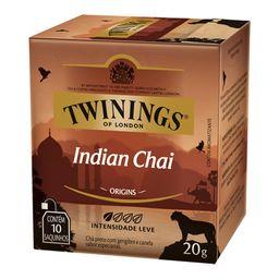 Chá Preto Gengibre Canela Indian Twinings 10 Saquinhos