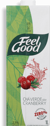 Chá Verde Com Cranberry Feel Good 1 L