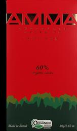 Chocolate Amma Orgânico 60% 80 g