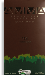 Chocolate Amma Orgânico 75% 80 g