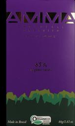 Chocolate Amma Orgânico 85% 80 g