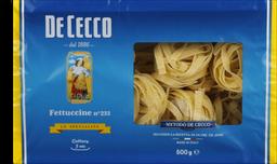 Macarrão Fettuccine N 233 De Cocco 500 g