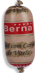 Patê Berna Carne Vitela 100 g